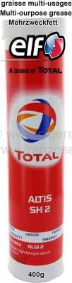 Citroen-DS-11CV-HY Multi-purpose grease, cartridge 400g, suitable for our lubricating gun.