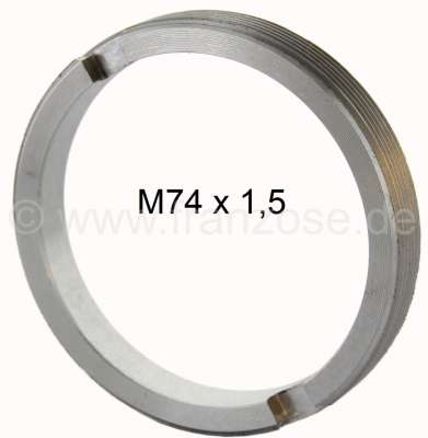 Citroen-2CV Ring nut suitable for the wheel bearing, for 2CV. (Not suitable for AK, ACDY, AMI). Very p