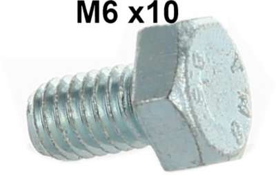 Citroen-2CV M6 screw. Securement wheel brake cylinder. Suitable for Citroen 2CV.