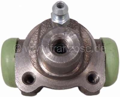 Citroen-2CV Wheel brake cylinder rear, brake system LHM. 16mm piston. Suitable for Citroen 2CV6, start