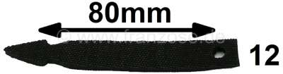 Renault Cable binder from rubber. Length: 80mm. Made in Germany.