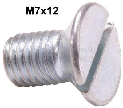 Renault Countersunk screw M7x12, e.g. door hinges.
