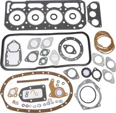 Citroen-DS-11CV-HY Engine gasket set inclusive cylinder head gasket, suitable for Citroen DS 21 (engine DX2),