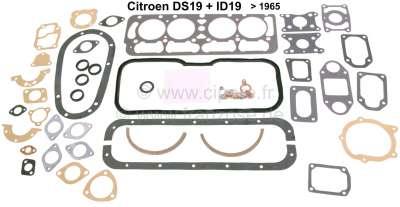 Citroen-DS-11CV-HY Engine gasket set inclusive cylinder head gasket, suitable for Citroen DS 19 + ID19, Insta