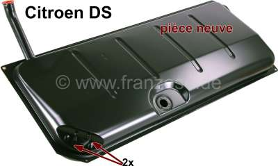 Citroen-DS-11CV-HY Fuel tank, new part (without drain plug, without fuel sender)! Suitable for Citroen DS, wi