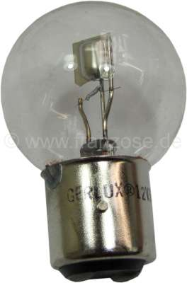 Citroen-2CV Bulb 12 V, 40/45 Watt, clearly, bases with 3 pins, Ba21d
