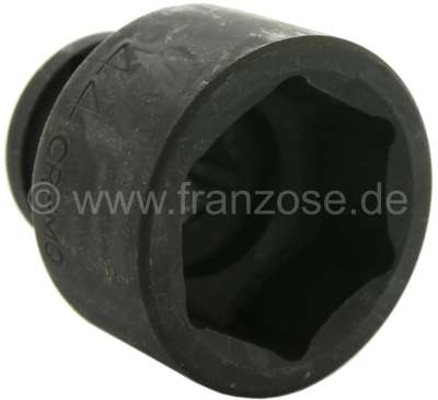 Renault 44 nut thick-walled. Not suitable for Citroen 2CV.