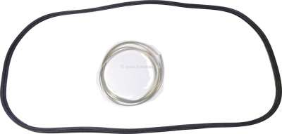 Sonstige-Citroen Windshield seal Citroen GS. Mounting with sealing trim. The sealing trim is attached to th