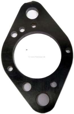 Peugeot Seal under carburetor Simca 1000. (Insulating clamp between manifolds + carburetors). Open