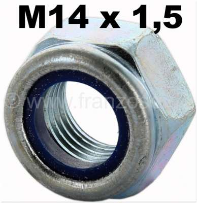 Renault Nut selflocking M14 x 1,5. E.G. suitable for tie rods Renault R4.