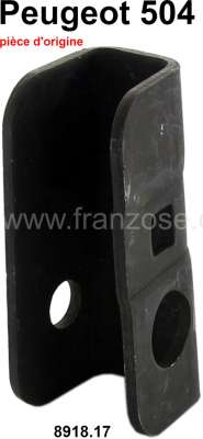 Peugeot P 504, bracket for the seat bench screwed joint in front. Suitable for Peugeot 504 L/GR, F