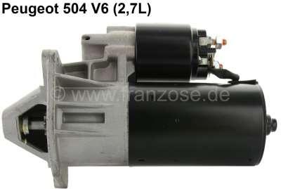 Peugeot Starter motor, suitable for Peugeot 504 V6 (2,7L). Peugeot 604 2,7 (SL, TI, STI). 604 2,8