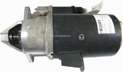 Peugeot Starter motor, suitablr for Peugeot 504 Diesel (2,1L +2,3L), Peugeot 604D, 505D. 12 V. Pow