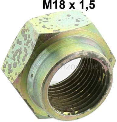 Peugeot P 404, hub nut in front (front axle). Thread: M18 x 1,5. Or. No. 693540