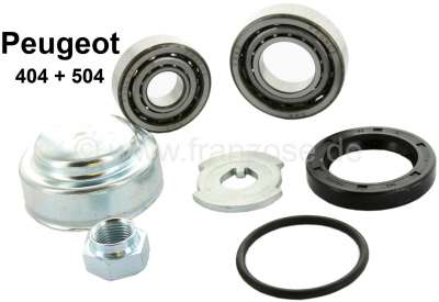 Peugeot P 404/504, wheel bearing set in front. Suitable for Peugeot 404 + 504 (to year of construc