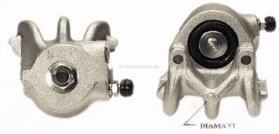 Renault Rear engine, brake caliper front on the left. Brake system: Bendix. Piston diameter: 38mm.