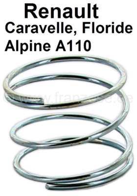 Renault Caravelle/Floride/A110, spring under the Rosette for the window crank + door openers. Per