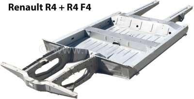 Renault Chassis out of zinc coated sheets (with German TÜV papers, translated in English), suitabl