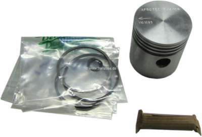 Renault 4CV/Juvaquatre, piston (1 piece). Suitable for Renault Juvaquatre (R2100 from 1954 to 1955
