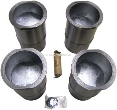 Renault Alpine110, R12 Gordini, R17TS, piston + liner (4 pieces). Suitable for Renault alpine one