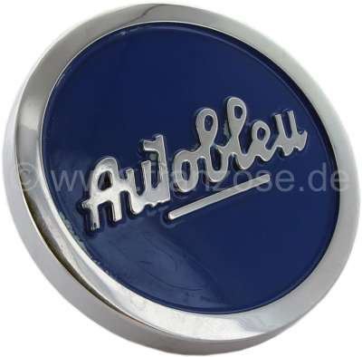 Renault 4CV/Dauphine/Floride, oil filler-cap blue, for valve cap from aluminum. Color: blue. Suita