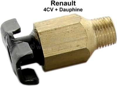 4CV/Dauphine, water drain plug, for the engine block