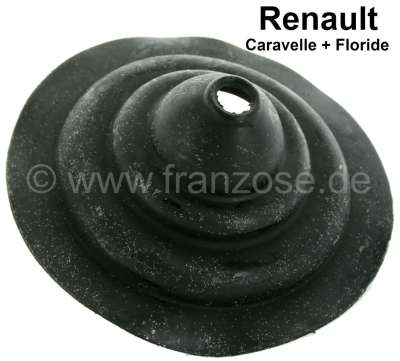 Renault Dauphine, rubber sleeve for the gear shift lever (in the interior). Suitable for Renault D
