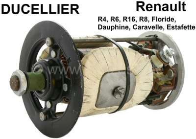 Renault Direct current generator (Ducellier) repair set. Suitable for series: 7. 12 V. 350 Watts.