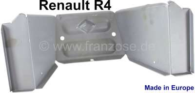 Renault R4, Middle part of the splash wall in front at the chassis. Suitable for Renault R4. The s