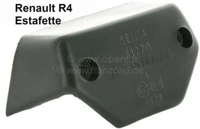 Renault R4, cap for the license plate light. Version: SEIMA 41270. Suitable for Renault R4 + Estaf