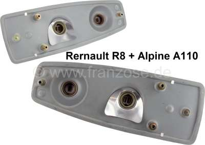 R8/A110, support for tail lamp (2 pieces)  Suitable for