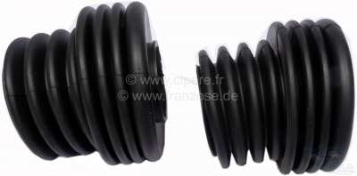 Renault R16/R12/R17, steering gear - tie rods collar set (2 fittings, inclusive Clips). Suitable f