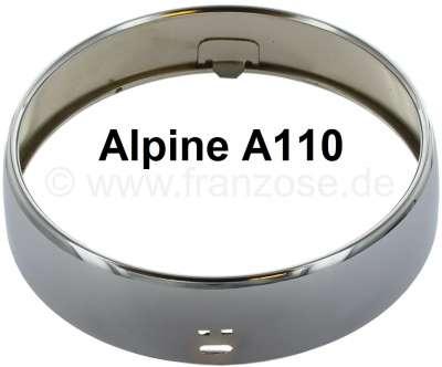 A 110, auxiliary headlight chrome ring (Jod headlamp