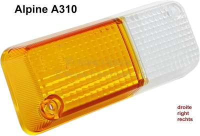 Renault A310, Turn signal cap on the right. Suitable for Renault Alpine A310 V6 + Renault R12.