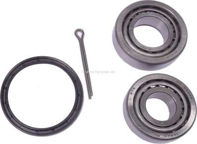 Renault Wheel bearing set of rear axle. Suitable for Renault R4, R6, R16. Dimension bearing 1: Out