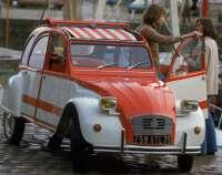 2CV4 Spot, sticker set, 2CV. - 16339 - Der Franzose
