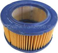 Air cleaner element for Ami6 starting from year of construction 10/1968. Engine AKB. Height: 60mm, outside diameter: 119mm, inside diameter: 75mm. Or.Nr.: AZ151-5 - 10277 - Der Franzose