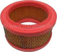 Air filter element for 2CV from the sixties, AMI for sheet metal air filter, HY Diesel + Citroen HY petrol to year of construction 1963 (H171-0A). Outside diameter: 130mm. Inside diameter: 90mm. Height of 60-65mm -1 - 10499 - Der Franzose