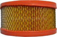 Air filter element for 2CV from the sixties, AMI for sheet metal air filter, HY Diesel + Citroen HY petrol to year of construction 1963 (H171-0A). Outside diameter: 130mm. Inside diameter: 90mm. Height of 60-65mm -2 - 10499 - Der Franzose