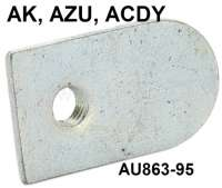 AK400/ACDY/AZU/, actuation handle for the locking pin of the tail gate. Or.Nr.AU 863 95 - 15461 - Der Franzose
