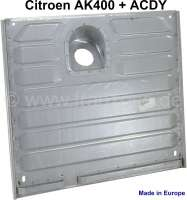 AK/ACDY, tank panel for Citroen AK400 + ACDY. Large corrugated sheet, reproduction. Made in Europe. - 15303 - Der Franzose