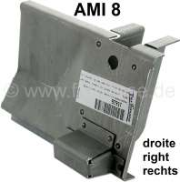 AMI8, jacking mounting (repair sheet metal), in front on the right. Suitable for Citroem AMI 8. - 15626 - Der Franzose