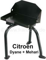 Battery support for Citroen Dyane, ACDY Mehari. The support is locked on the chassis. - 15630 - Der Franzose