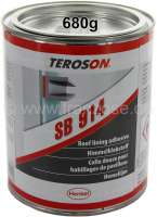 Inside roof lining adhesive from Teroson. Contents: 680g. Light, transparent adhesive material for the roof and door linings. - 21059 - Der Franzose