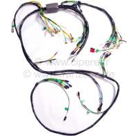 Main cable harness, suitable for Citroen Dyane, starting from year of construction 09/1974 to 07/1981. Made in Germany. - 14497 - Der Franzose