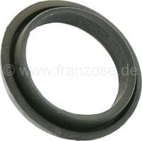 Rubber seal between carburetor + air filter. Suitable for Citroen 2CV6 with round carburetor. Connection port 50-55mm. You can use it for other french car's. -1 - 10204 - Der Franzose