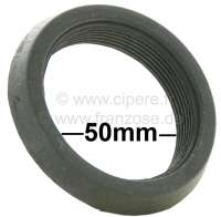 Rubber seal between carburetor + air filter. Suitable for Citroen 2CV6 with round carburetor. Connection port 50-55mm. You can use it for other french car's. - 10204 - Der Franzose