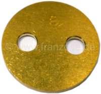Throttle valve 26mm diameter, Solex 26/35CSIC. Installed  in 2CV, Dyane, Ami, Mehari - 10594 - Der Franzose