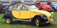 Charleston sticking set completely, yellow-black. 2Cv Charleston starting from 1984. Note: Sticking set for completely black painted body! yellow = GDA, black = EXY. -1 - 16024 - Der Franzose