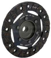 Clutch disk, to year of construction 02/1982. Suitable for Citroen 2CV6. Diameter: 160mm. Number of teeth: 18. Hub profile: 17,8x20,3-18N. Manufacturer: Sachs! -1 - 10629 - Der Franzose